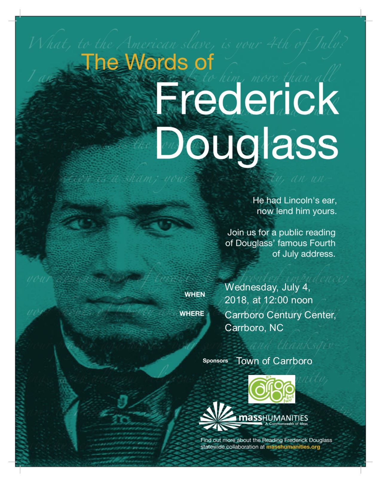 2018 Douglass Reading