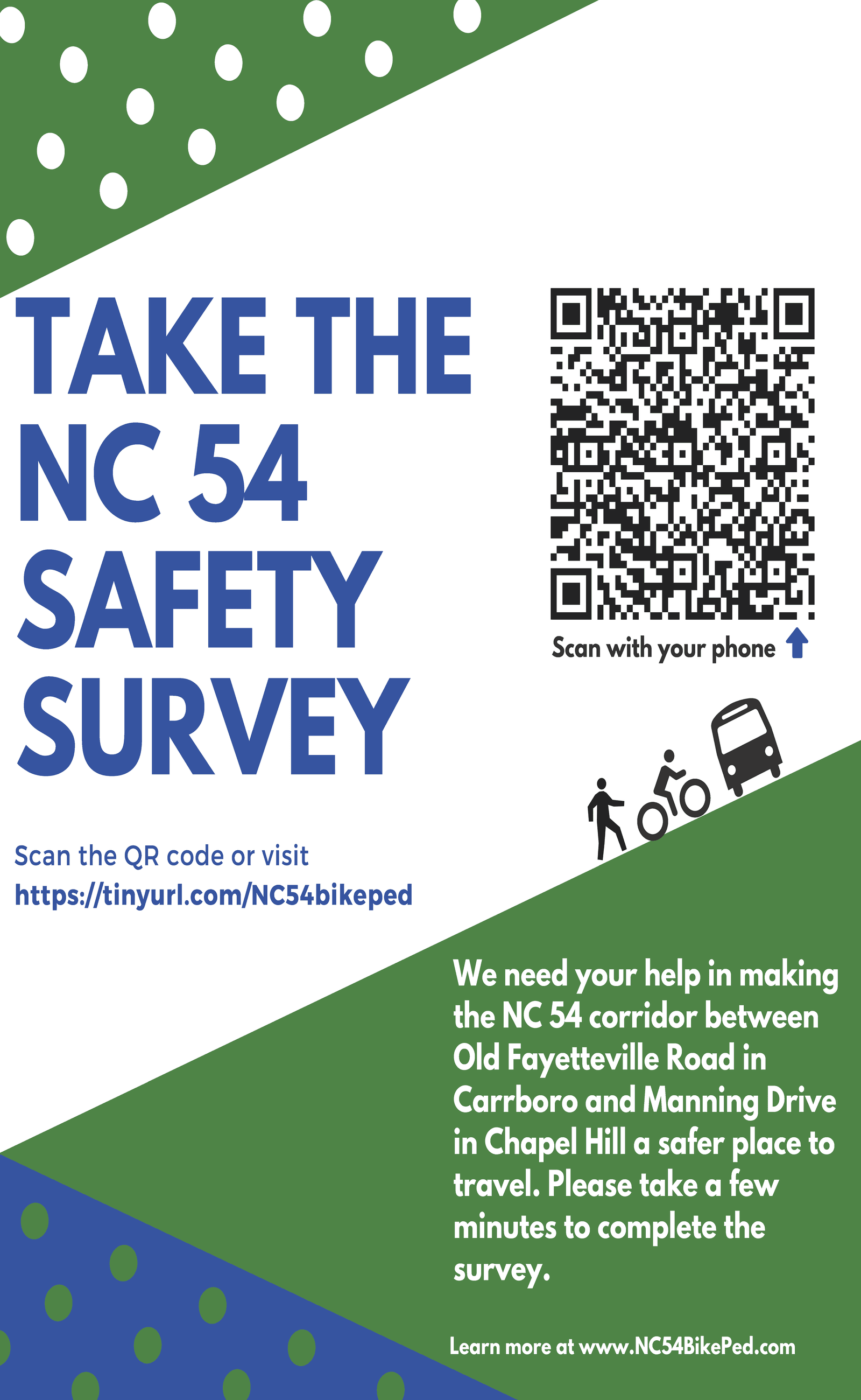 NC 54 Survey flyer